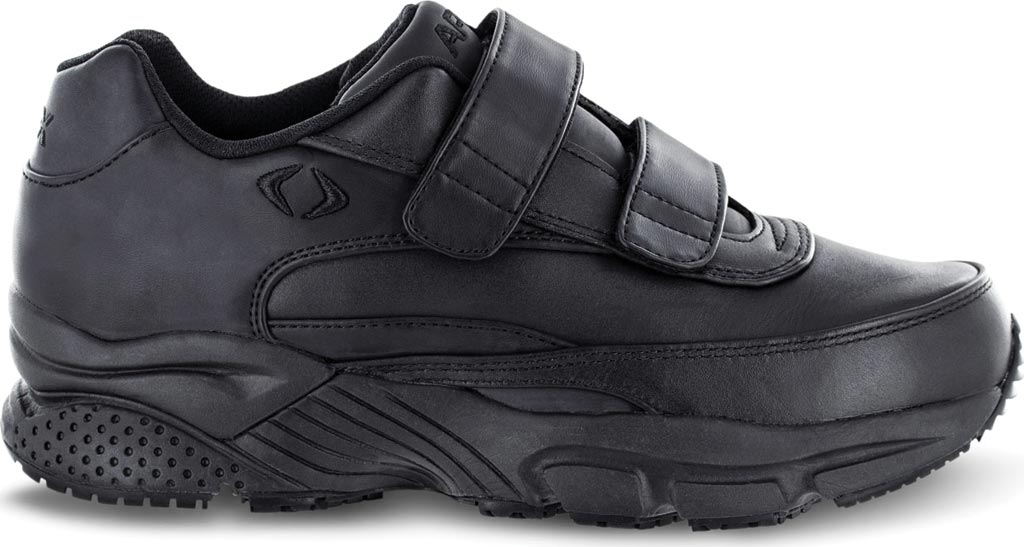 Men's Apex Double Strap Walker X Last Sneaker, Black Full Grain Leather, large, image 2