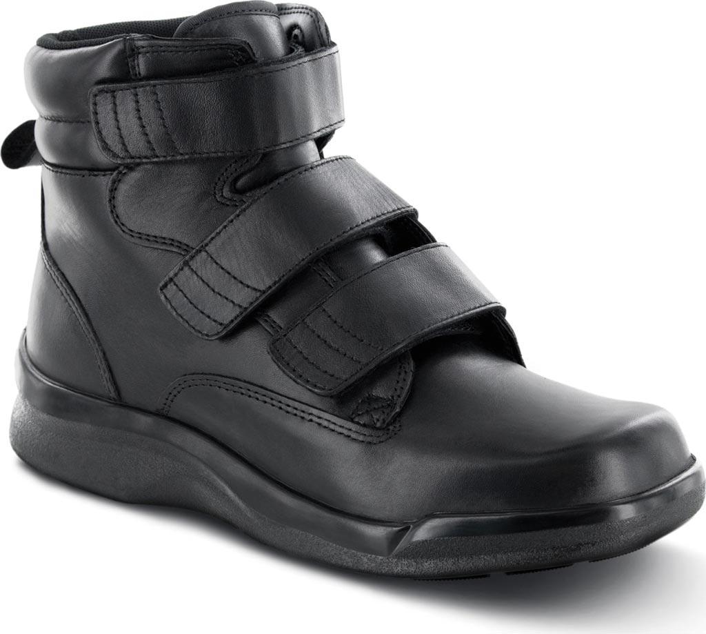 "Men's Apex 6"" Ambulator Biomechanical Triple Strap Boot, Black Leather, large, image 1"