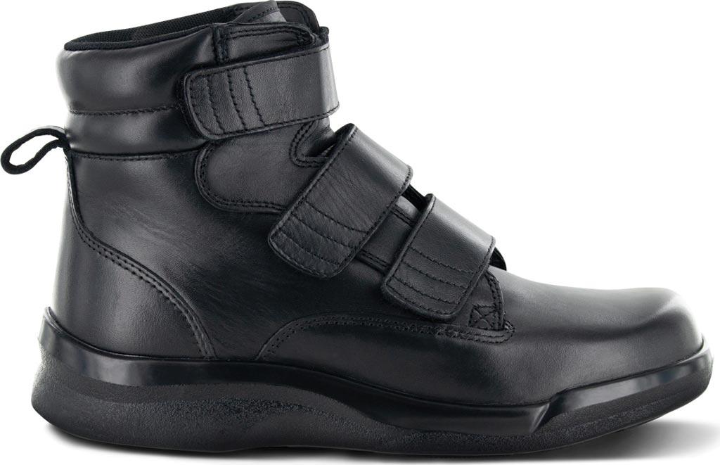 "Men's Apex 6"" Ambulator Biomechanical Triple Strap Boot, Black Leather, large, image 2"