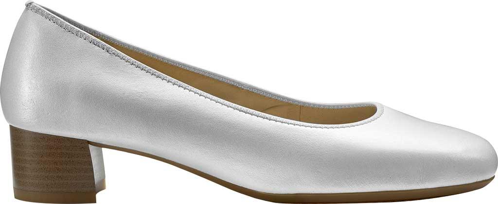 Women's ara Vivian 16601 Pump, Off White Perlacalf Leather, large, image 1