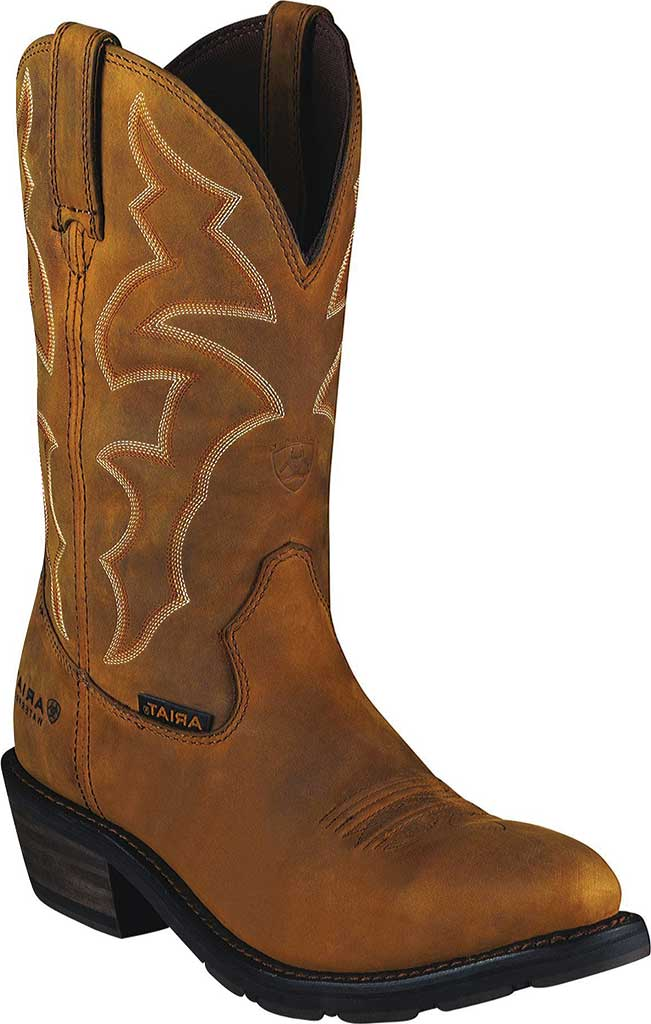 Men's Ariat Ironside H2O, Dusted Brown Waterproof Full Grain Leather, large, image 1