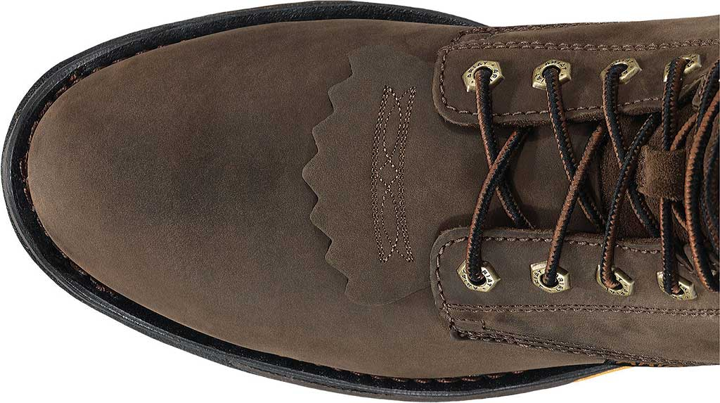 """Men's Ariat Workhog 8"""" H2O, Oily Distressed Brown Full Grain Leather, large, image 3"""