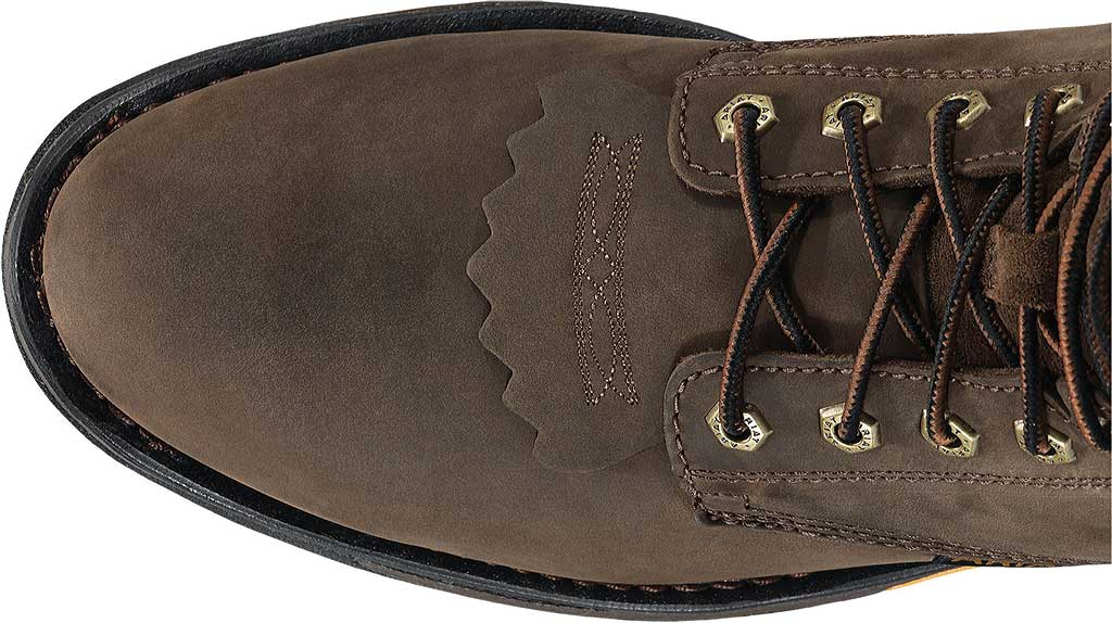 """Men's Ariat Workhog 8"""" H2O, Oily Distressed Brown Full Grain Leather, large, image 5"""