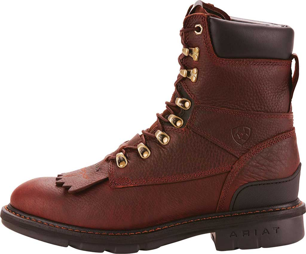 Men's Ariat Hermosa XR, Redwood Full Grain Leather, large, image 2