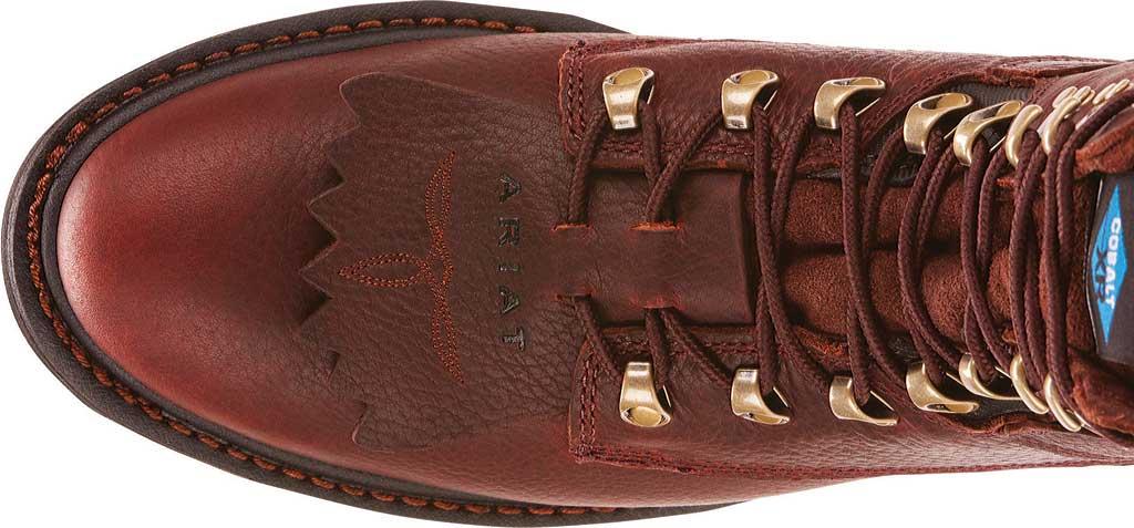 Men's Ariat Hermosa XR, Redwood Full Grain Leather, large, image 4