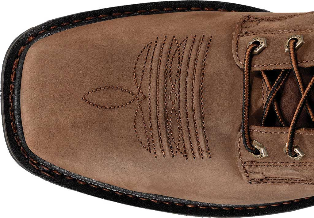 """Men's Ariat Cascade 8"""" Wide Square Steel Toe Boot, Alamo Brown Full Grain Leather, large, image 3"""