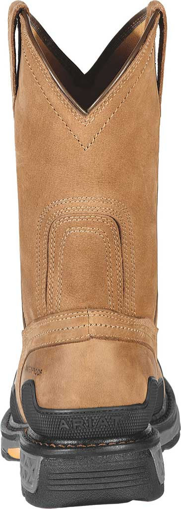 Men's Ariat OverDrive Pull-On H2O Composite Toe Boot, Dusted Brown Leather, large, image 4