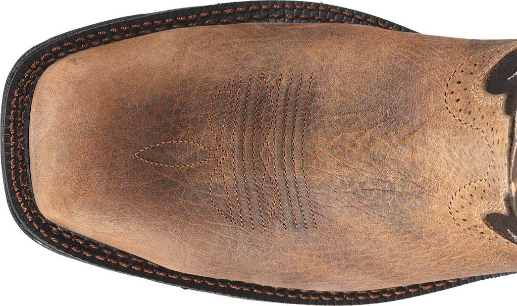 Men's Ariat WorkHog Mesteno Composite Toe, Earth/Coffee Full Grain Leather, large, image 3