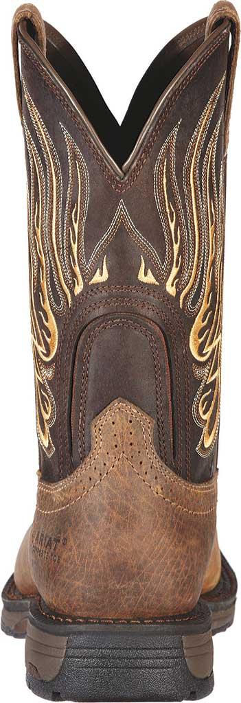 Men's Ariat WorkHog Mesteno Composite Toe, Earth/Coffee Full Grain Leather, large, image 4