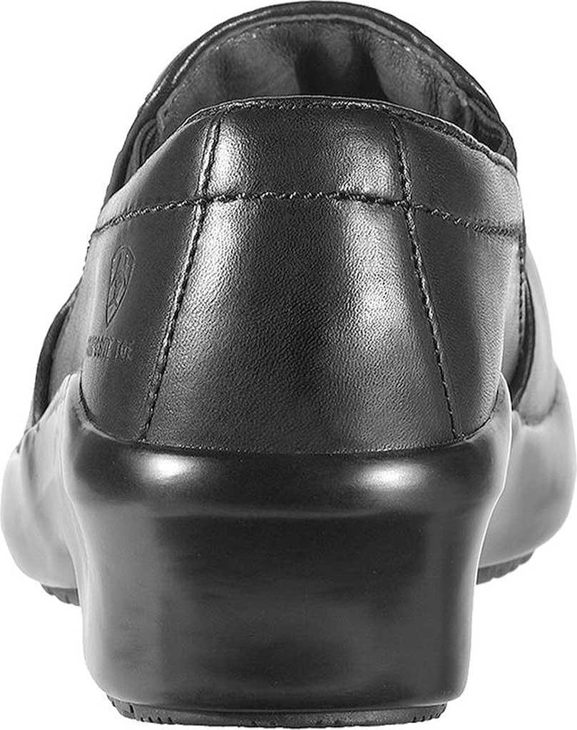 Women's Ariat Expert Safety Clog, Black Full Grain Leather, large, image 3
