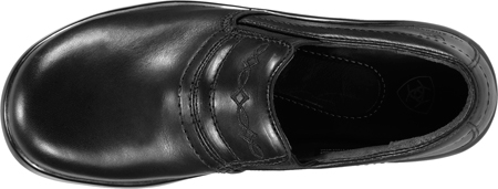 Women's Ariat Expert Safety Clog, Black Full Grain Leather, large, image 4