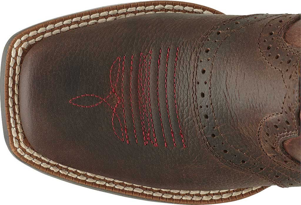Infant Ariat Roughstock, Brown Oiled Rowdy Full Grain Leather, large, image 3