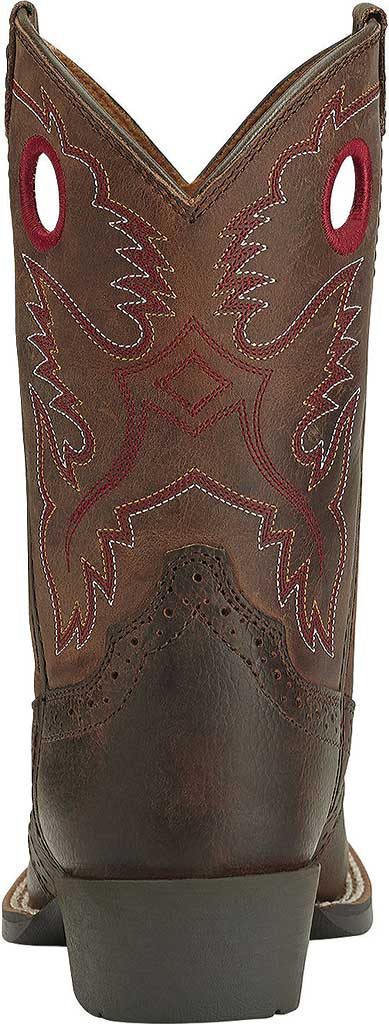 Infant Ariat Roughstock, Brown Oiled Rowdy Full Grain Leather, large, image 4