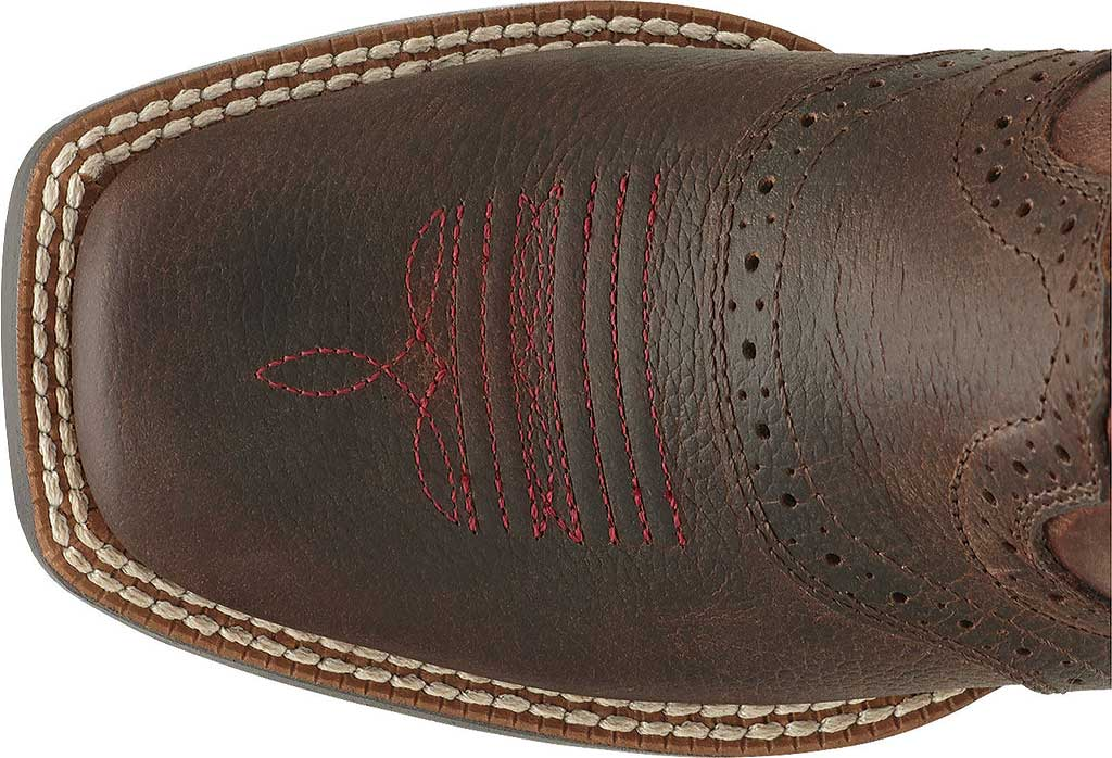 Infant Ariat Roughstock, Brown Oiled Rowdy Full Grain Leather, large, image 5