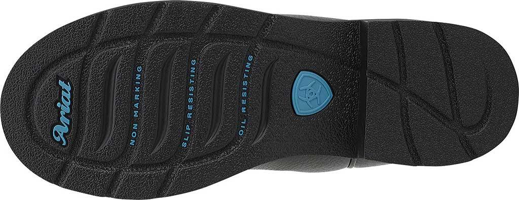 Women's Ariat Fatbaby Cowgirl Steel Toe, Black Deertan/Black Full Grain Leather, large, image 6