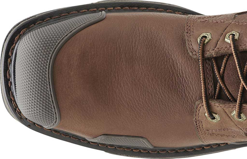 Men's Ariat OverDrive Wide Square H2O Composite Toe, Chestnut Brown Full Grain Leather, large, image 3