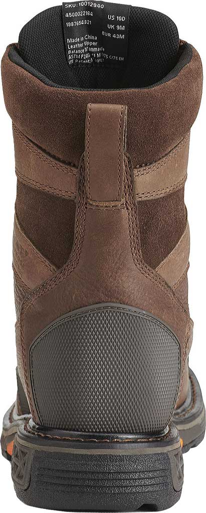 Men's Ariat OverDrive Wide Square H2O Composite Toe, Chestnut Brown Full Grain Leather, large, image 4