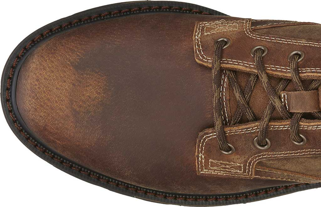 """Men's Ariat Groundbreaker 6"""" Ankle Boot, Brown Leather, large, image 4"""