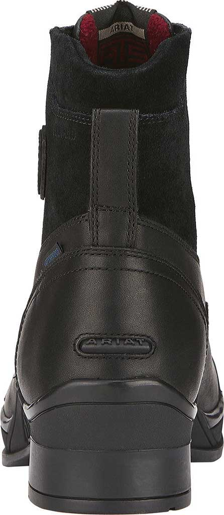 Men's Ariat Extreme Zip Paddock H2O Insulated Boot, Black Full Grain Leather/Suede, large, image 3