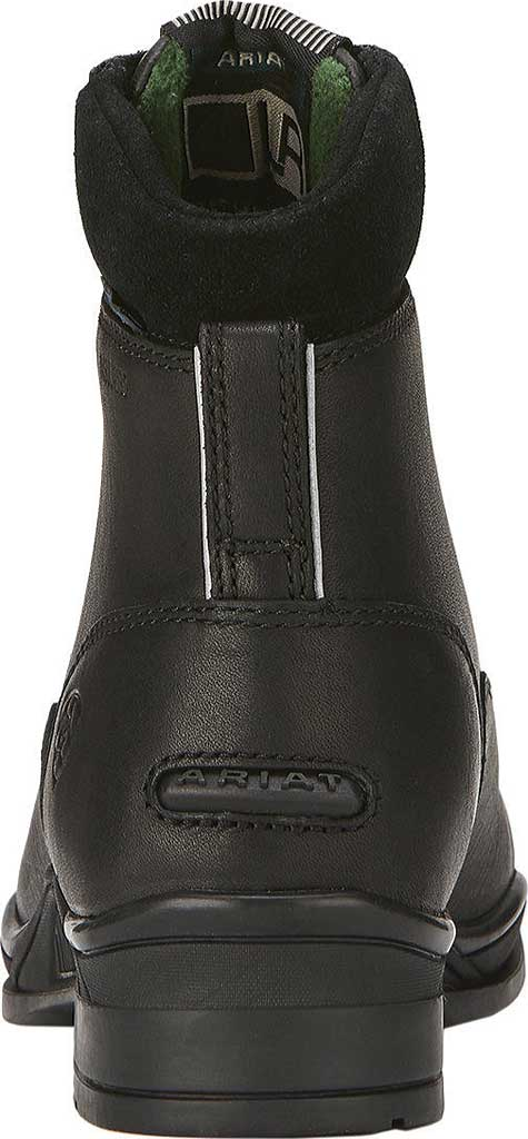 Children's Ariat Extreme Zip Paddock H2O Insulated Boot, Black Full Grain Leather, large, image 3