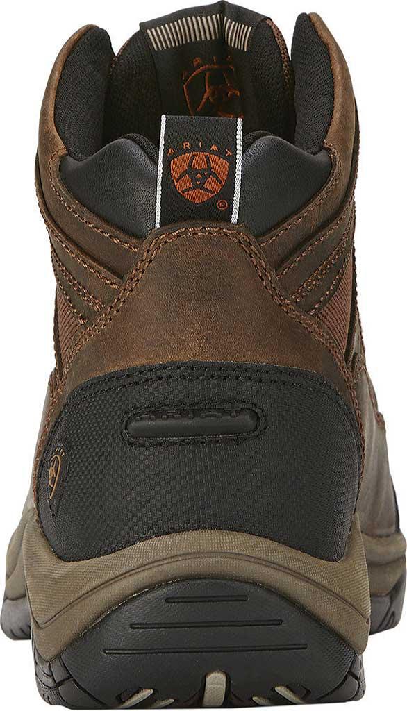 Men's Ariat Terrain Wide Square Toe Boot, Distressed Brown Full Grain Leather, large, image 3