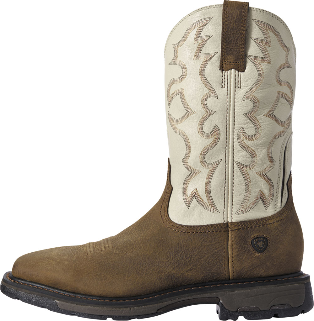 Men's Ariat Workhog Wide Square Toe Cowboy Boot, , large, image 2