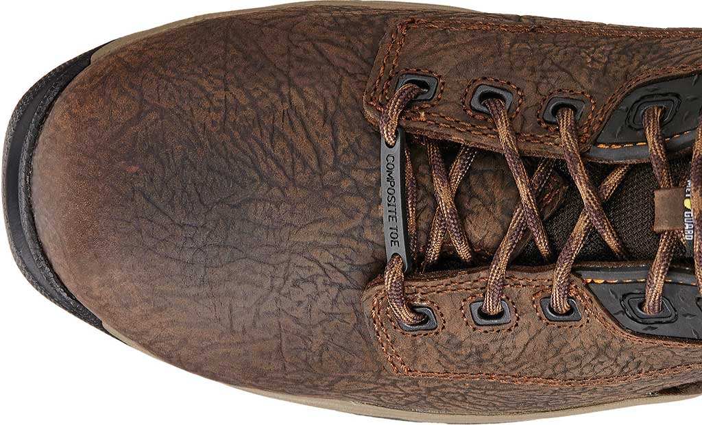"Men's Ariat Mastergrip 6"" H2O Composite Toe Metguard Work Boot, Bruin Brown Full Grain Leather, large, image 4"