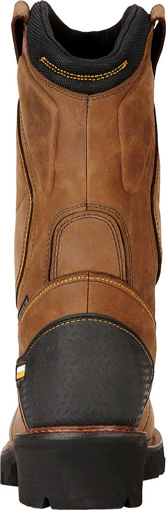 Men's Ariat Powerline H2O 400G Composite Toe Boot, Oily Distressed Brown Waterproof Leather, large, image 4