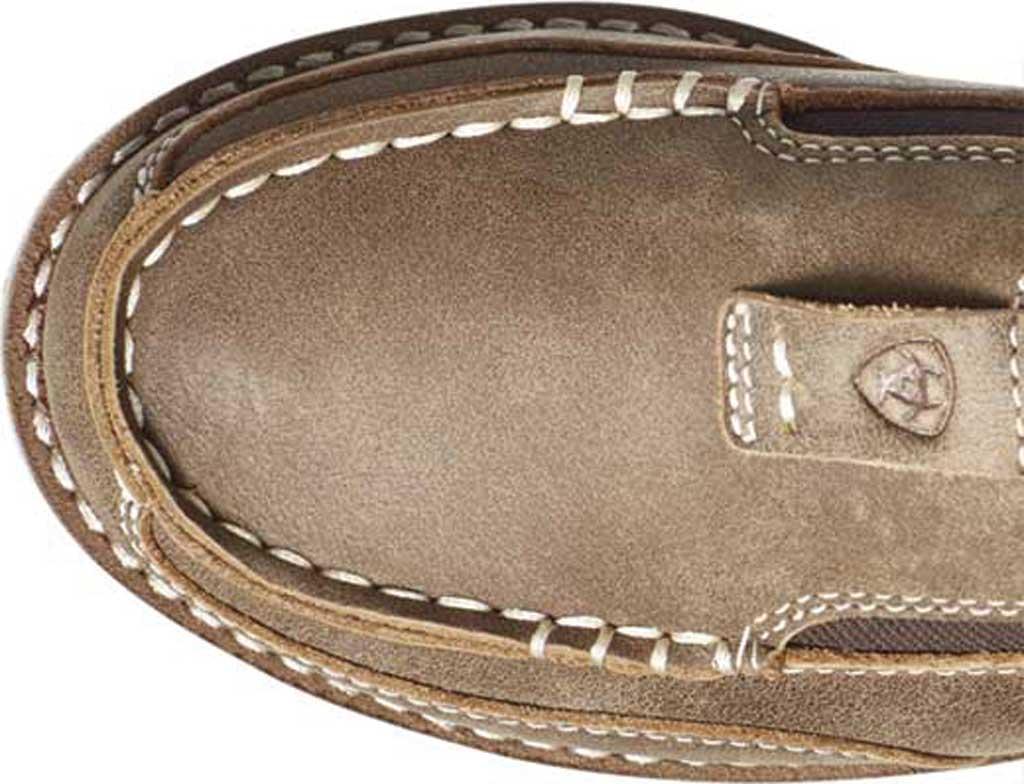Children's Ariat Cruiser Moc Toe Slip-On, Brown Bomber Full Grain Leather, large, image 4