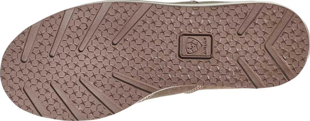 Children's Ariat Cruiser Moc Toe Slip-On, Brown Bomber Full Grain Leather, large, image 5