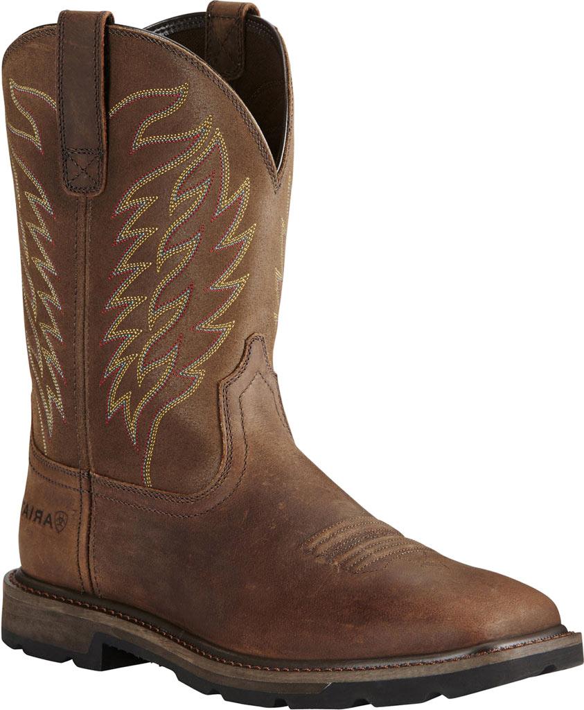 Men's Ariat Groundbreaker Wide Square Toe Boot, , large, image 1