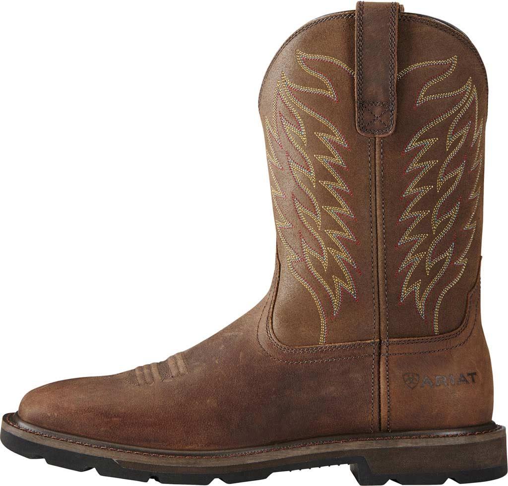 Men's Ariat Groundbreaker Wide Square Toe Boot, , large, image 2