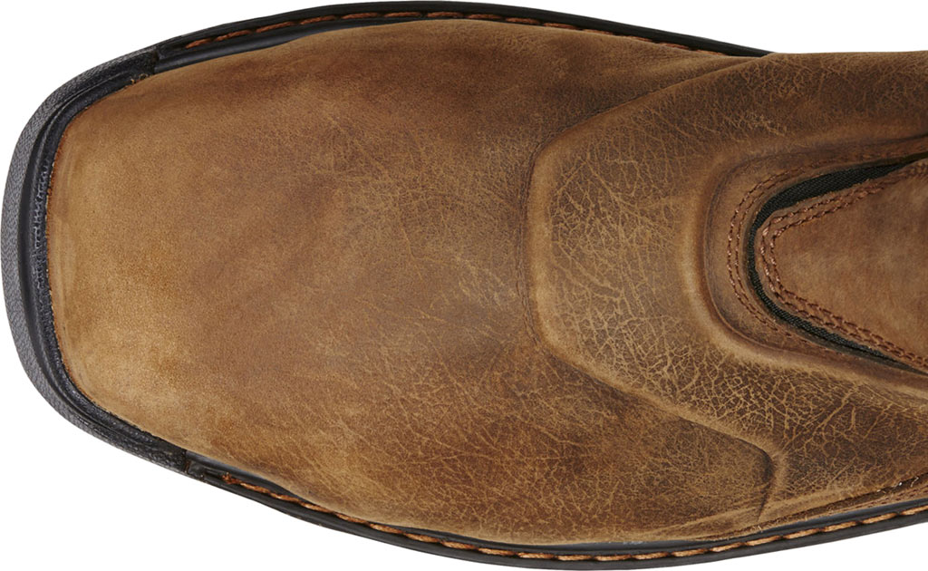 Men's Ariat Intrepid Pull-On H2O Composite Toe Boot, Rye Brown Full Grain Leather, large, image 4
