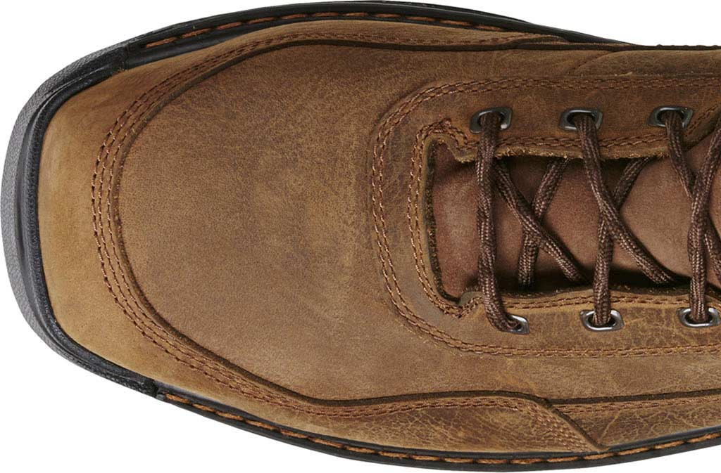 "Men's Ariat Intrepid 8"" H2O Composite Toe Boot, Rye Brown Waterproof Full Grain Leather, large, image 4"