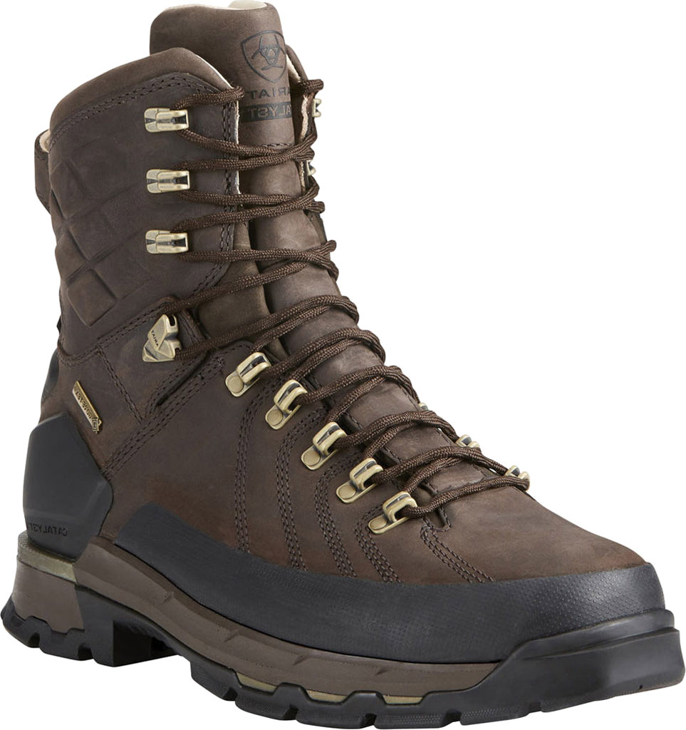 """Men's Ariat Catalyst VX Defiant 8"""" GORE-TEX 400G Hiking Boot, Bitter Brown Leather, large, image 1"""