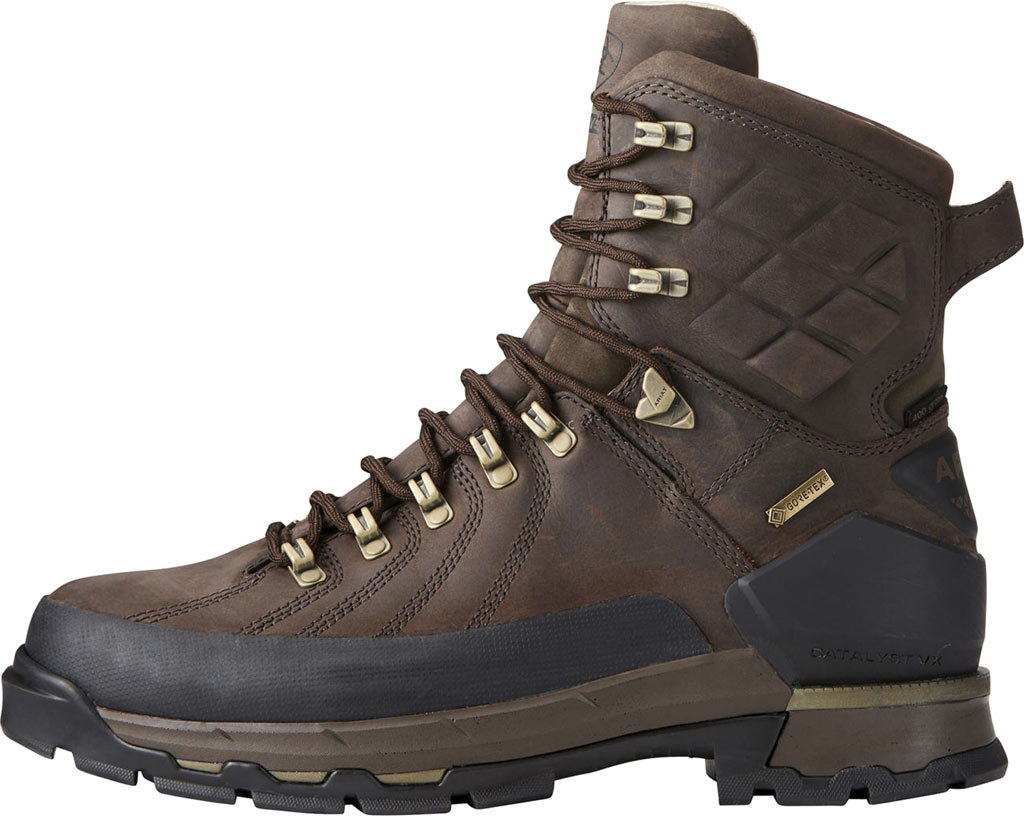 """Men's Ariat Catalyst VX Defiant 8"""" GORE-TEX 400G Hiking Boot, Bitter Brown Leather, large, image 2"""