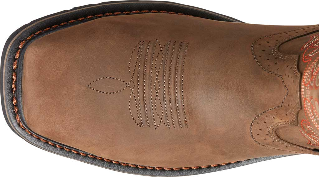 Men's Ariat Sierra Delta H2O Cowboy Boot, Oily Distressed Brown Leather, large, image 2