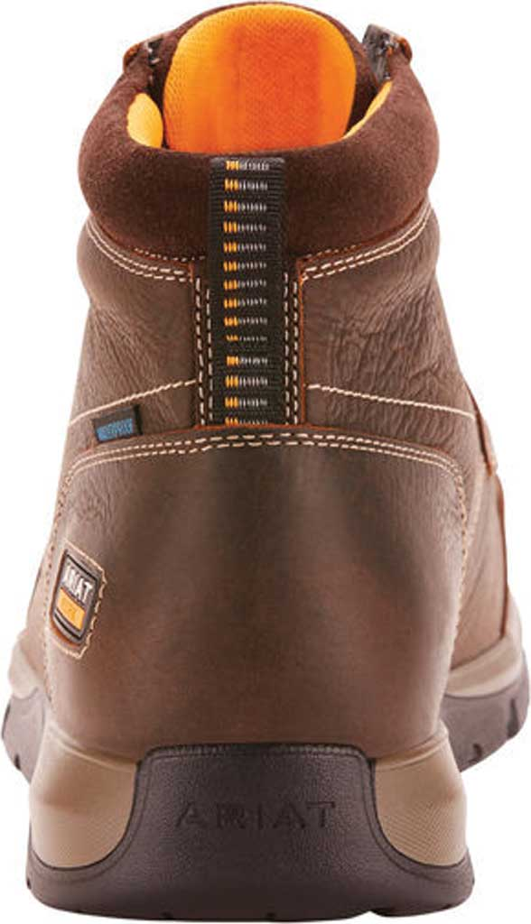 Men's Ariat Edge LTE H2O Composite Toe Work Boot, Dark Brown Leather, large, image 3