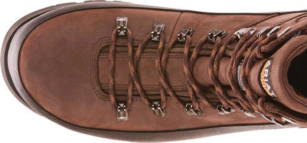"Men's Ariat Linesman Ridge 6"" GTX 400G Composite Toe Boot, Bitter Brown Full Grain Leather, large, image 4"