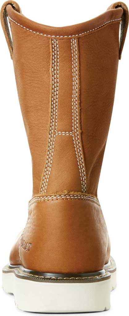 """Men's Ariat Rebar Wedge 6"""" Pull On Composite Toe Boot, Golden Grizzly Full Grain Leather, large, image 3"""