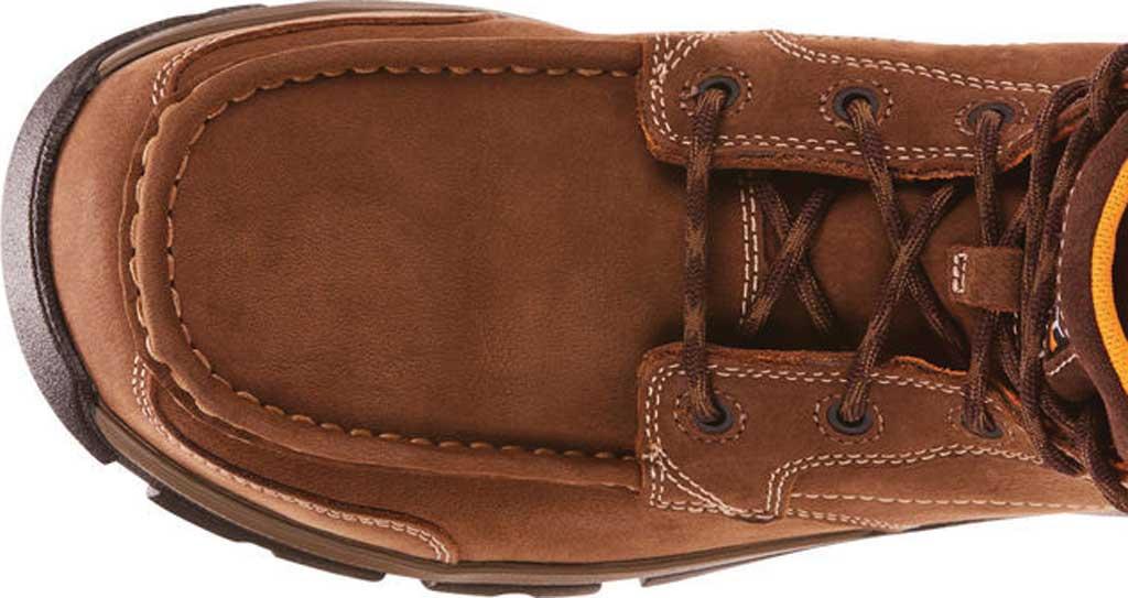Men's Ariat Edge LTE Composite Toe Work Boot, Dark Brown Leather, large, image 4