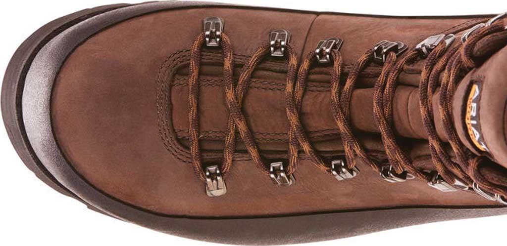 "Men's Ariat Linesman Ridge 6"" GTX Composite Toe Boot, Bitter Brown Full Grain Leather, large, image 4"