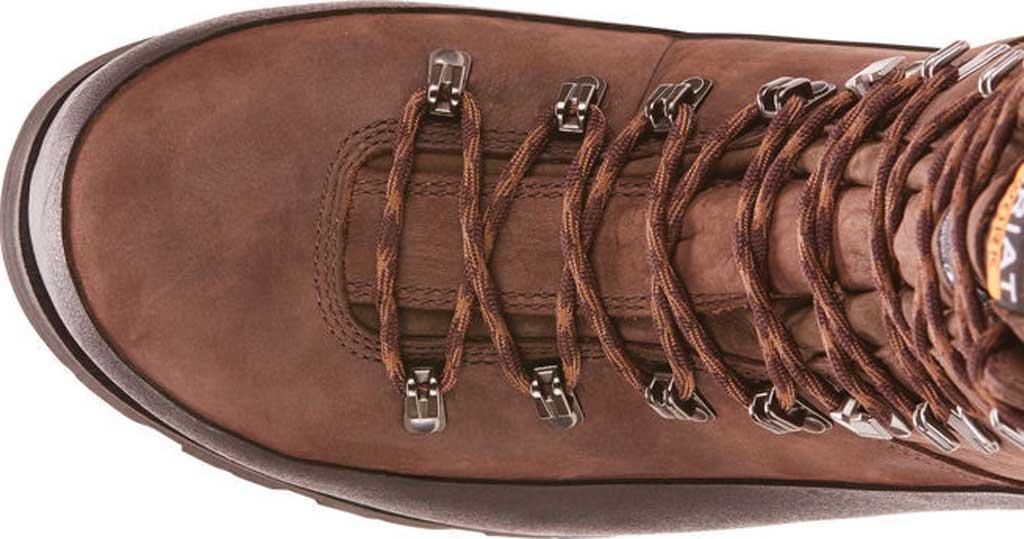 "Men's Ariat Linesman Ridge 10"" GTX 400G Composite Toe Boot, Bitter Brown Full Grain Leather, large, image 4"