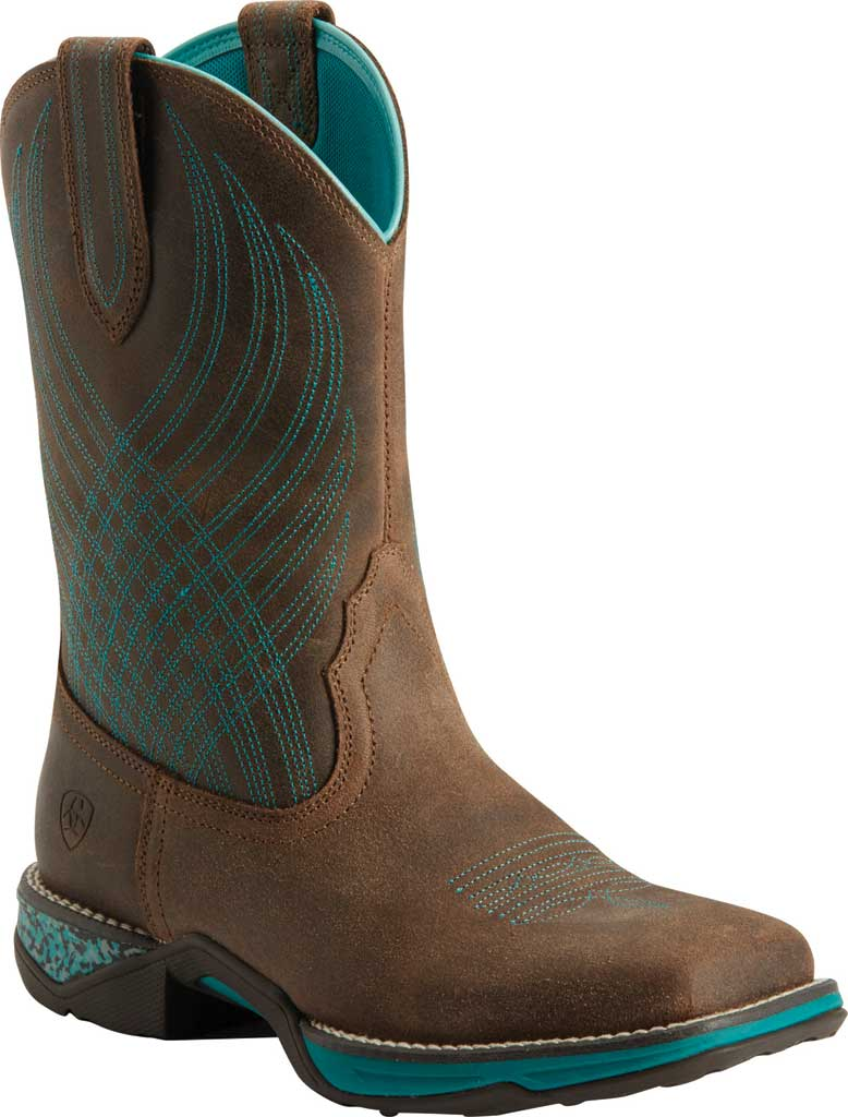 Women's Ariat Anthem Cowgirl Boot, Java Leather, large, image 1