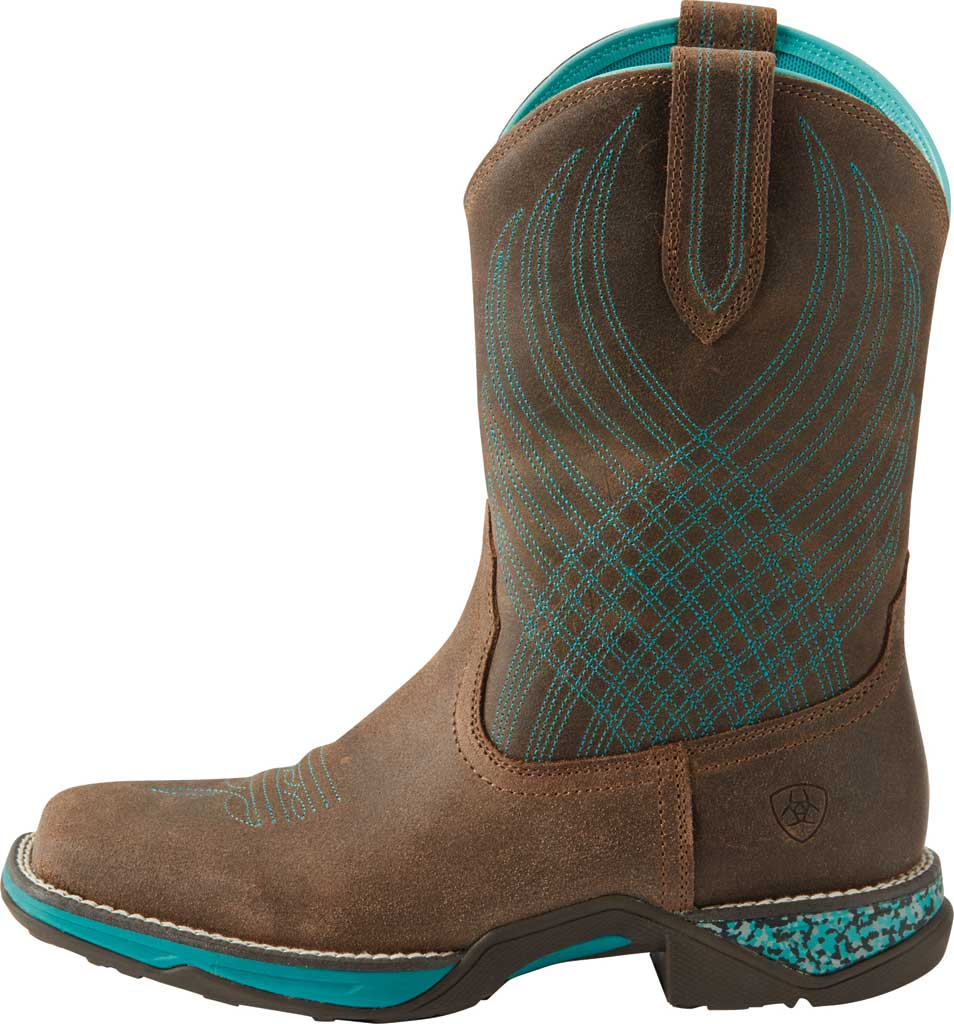 Women's Ariat Anthem Cowgirl Boot, Java Leather, large, image 2