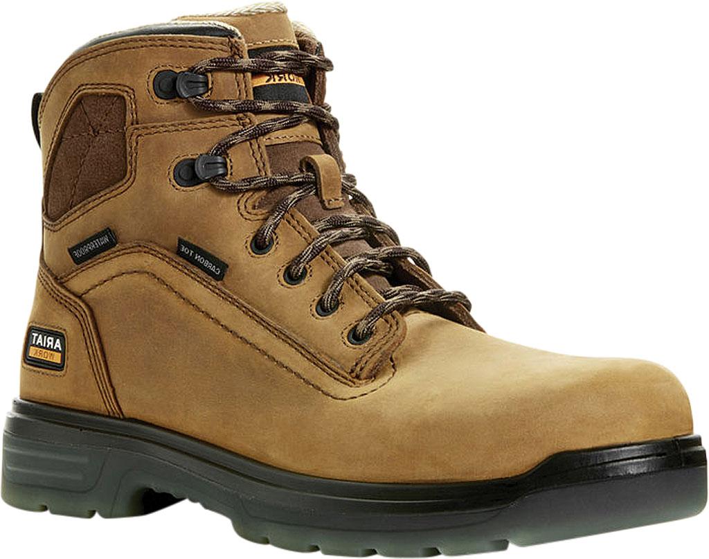 "Men's Ariat Turbo 6"" H2O Carbon Toe Work Boot, , large, image 1"