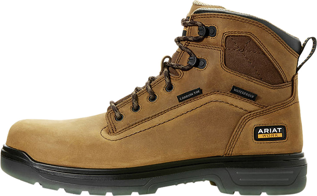 "Men's Ariat Turbo 6"" H2O Carbon Toe Work Boot, , large, image 2"