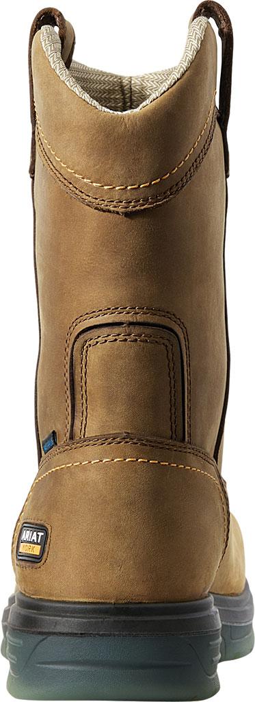 Men's Ariat Turbo Pull-On H2O CSA Carbon Toe Work Boot, Aged Bark Full Grain Leather, large, image 3