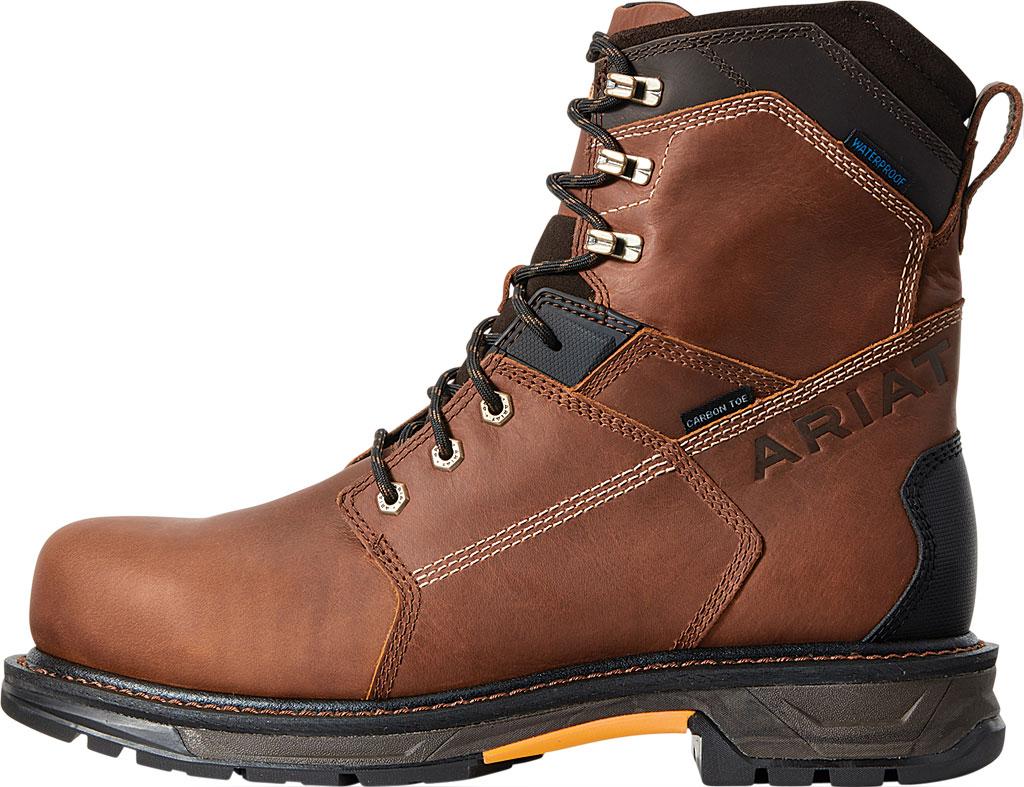 "Men's Ariat WorkHog XT 8"" H2O Carbon Toe Work Boot, Russet Brown Salt Repel Full Grain Leather, large, image 2"