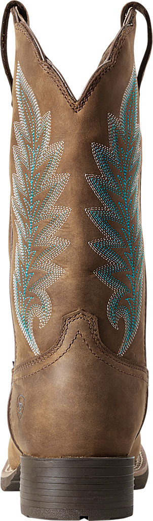 Women's Ariat Hybrid Rancher H2O 400g Cowgirl Boot, Oily Distressed Tan Full Grain Leather, large, image 3